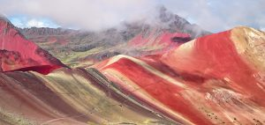 Rainbow Mountains and Red Valley