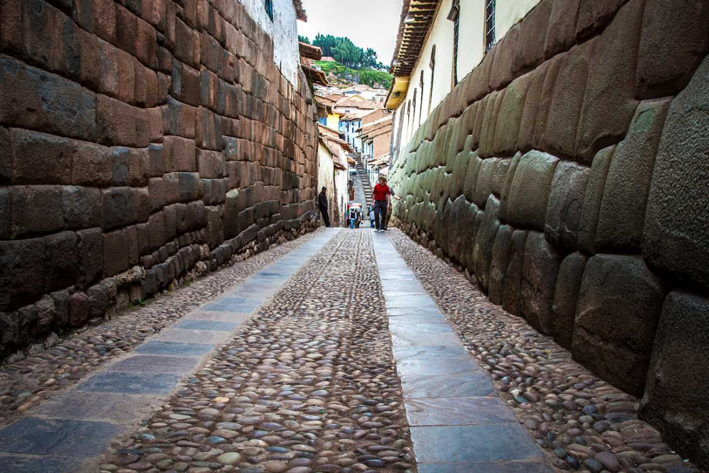 Street of ancient city