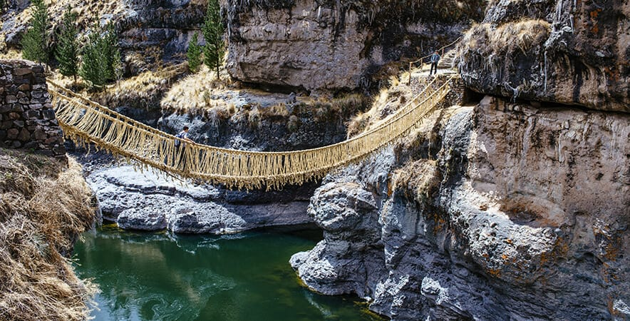 Inca Suspension Bridge (Queshuachaca)