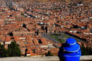 Bird eye view cusco