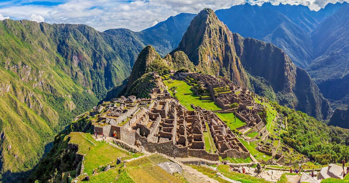 Inca trail hike destination