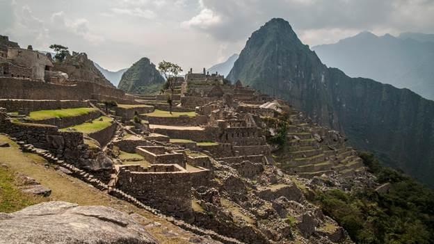 Machu Picchu Citadel at the top