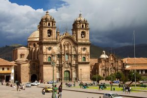 Cusco catholic cathedral