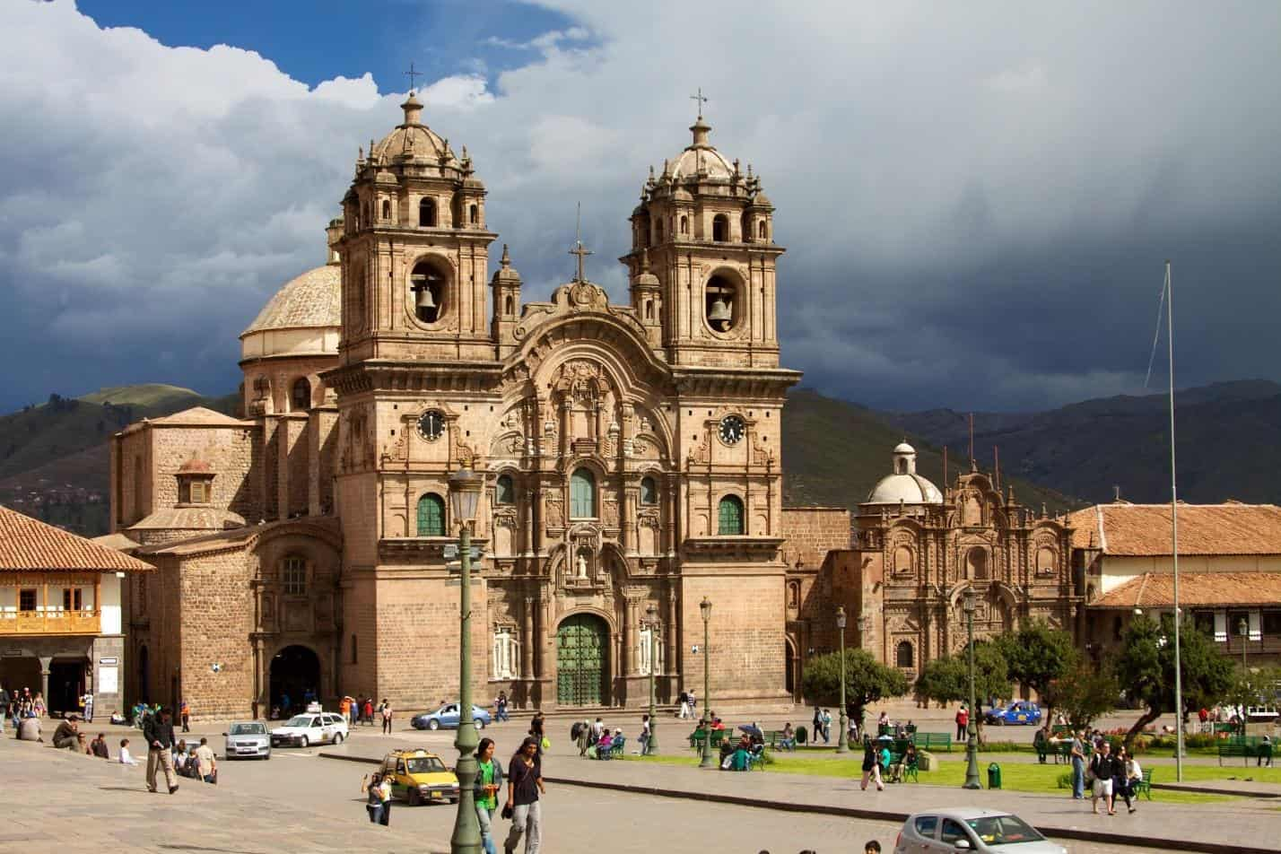 cusco city church