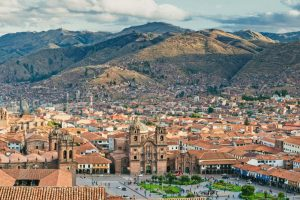 have a view of cusco city
