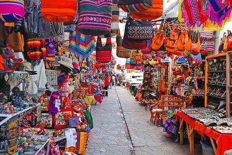 cusco city san pedra market