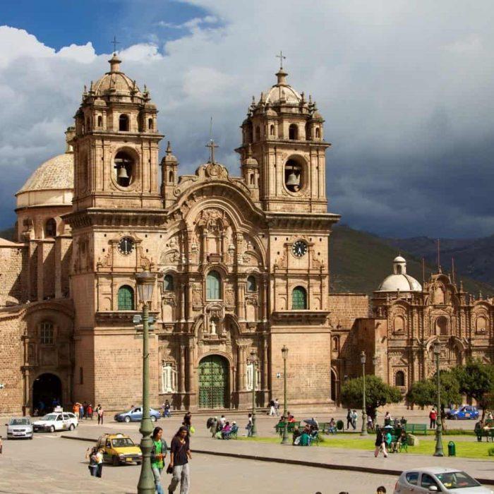 Cusco catholic cathedral