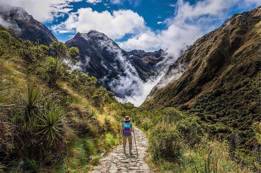 Trail to Inca Ruins