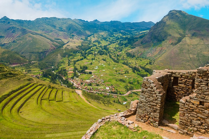 Sacred valley ruins.