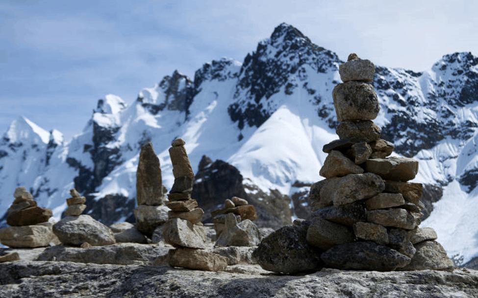 salkantay mountain from salkantay pass